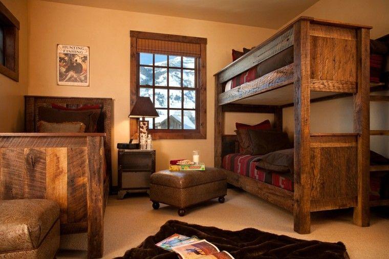 Estupenda habitacion decoracion rustica muebles - Decoracion habitacion rustica ...