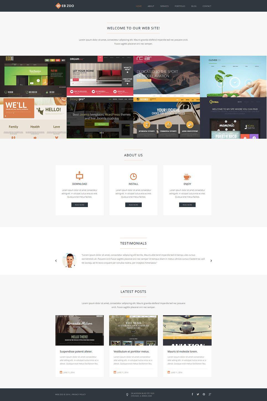 Web Design Services Joomla Template Joomla Portfolio Themes Design Photography Web Design Services Web Design Studio Joomla Templates