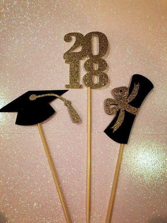graduation centerpiece sticks 2018 graduation party party decor