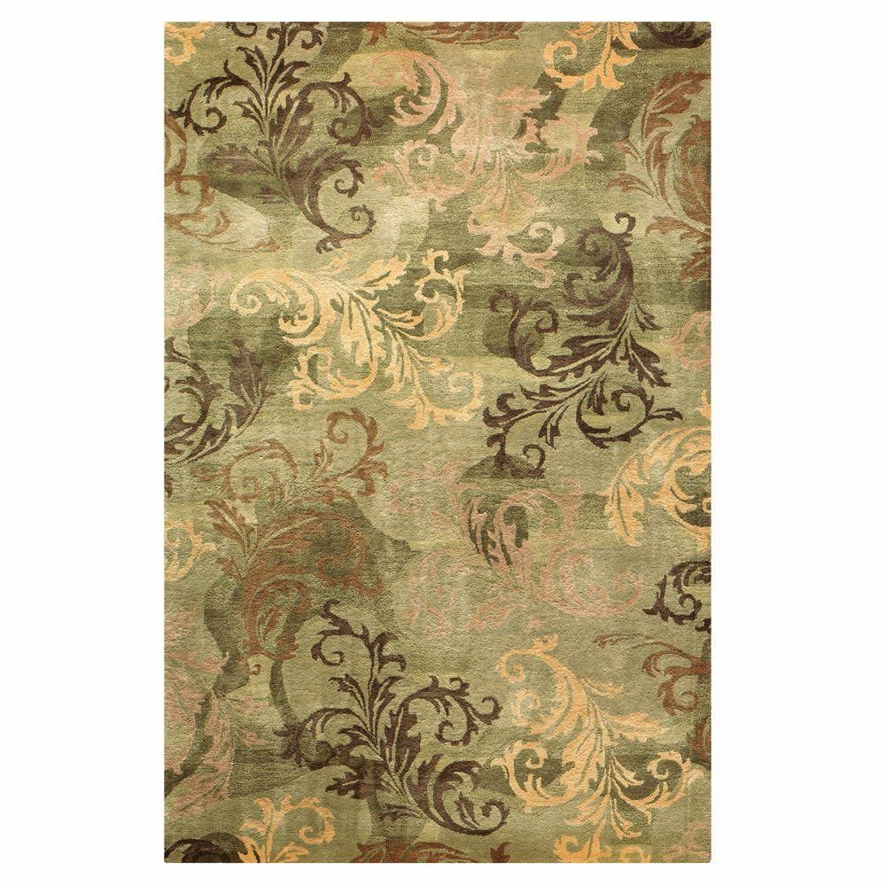 Home Decorators Collection Symphony Sage and Green