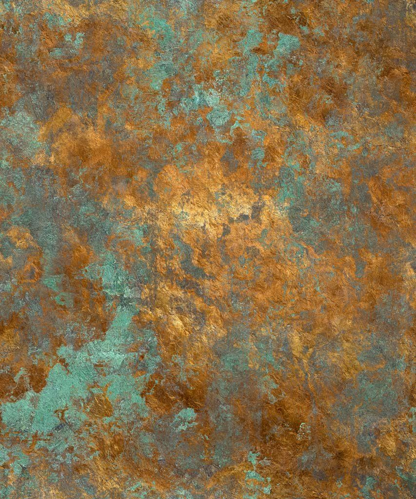Rusted Copper Backdrop Lucky In Love Mixer 2018 Deco Peinture Toiles De Fond Parement Mural