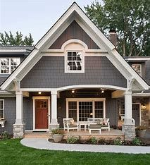 ✔ 50 Best Exterior Paint Colors for Your Home #greyexteriorhousecolors