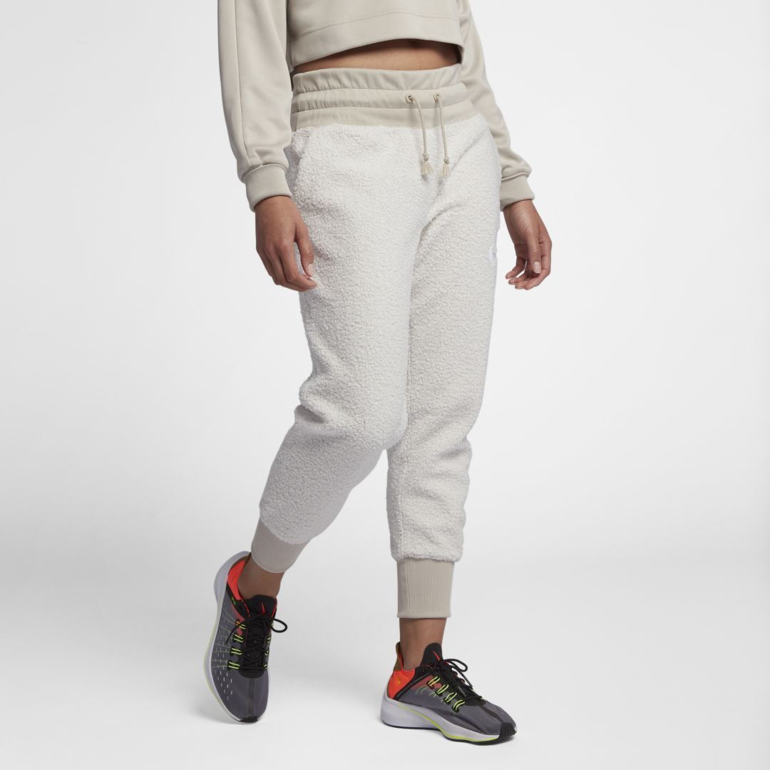 superior materials super quality meet Nike Sportswear NSW Women's Sherpa Joggers Size XS (Phantom ...