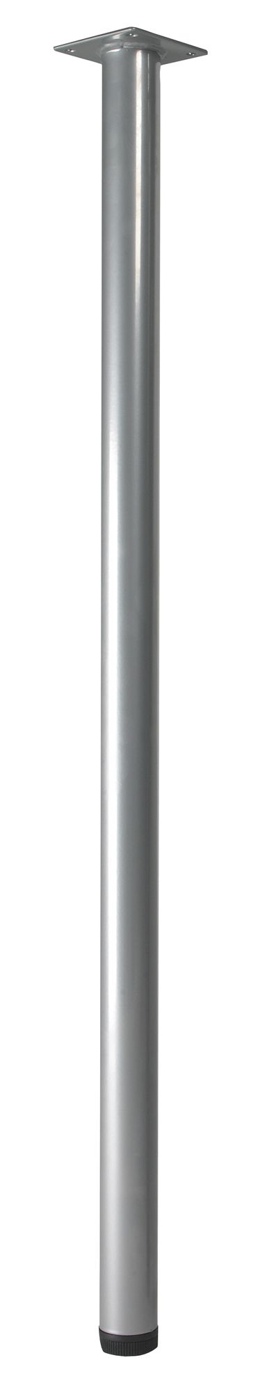 Furniture Legs B Q rothley (h)700mm painted silver painted furniture leg | silver
