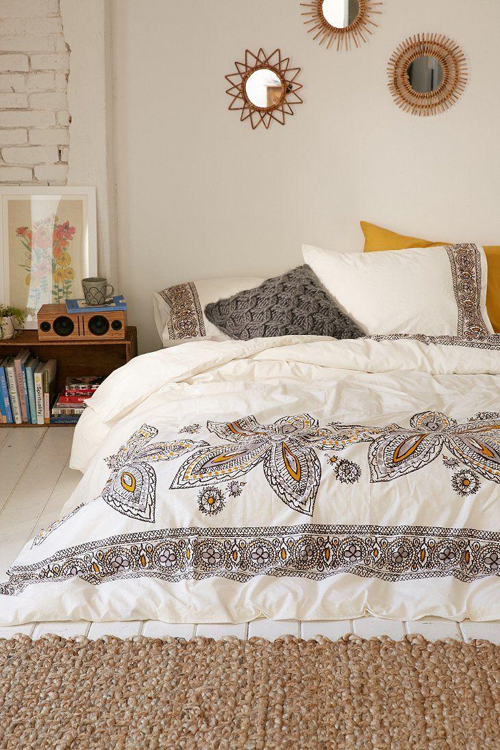 Amita Oversized Floral Duvet Cover