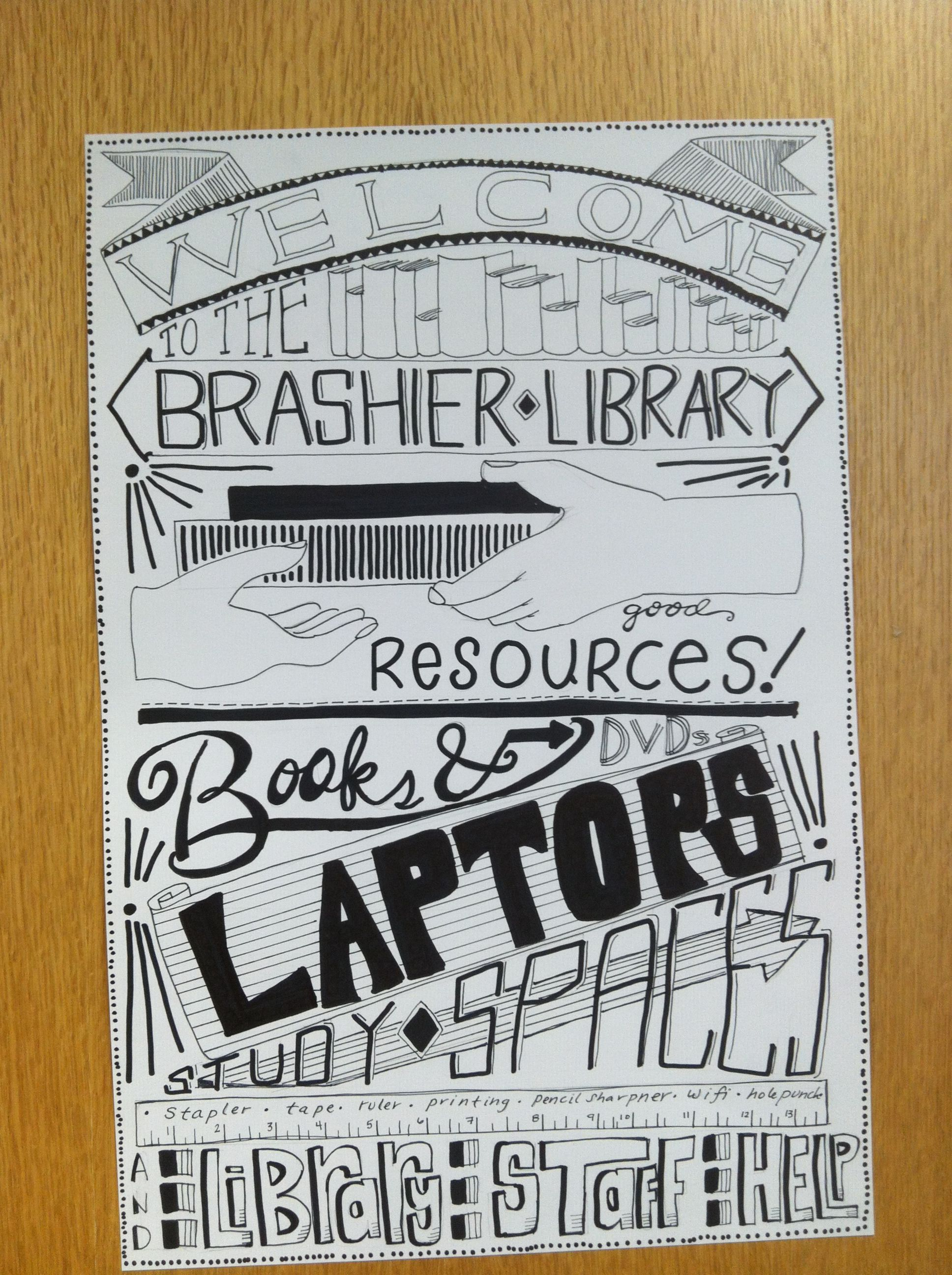 Library poster. Marketing your library | Library posters ...