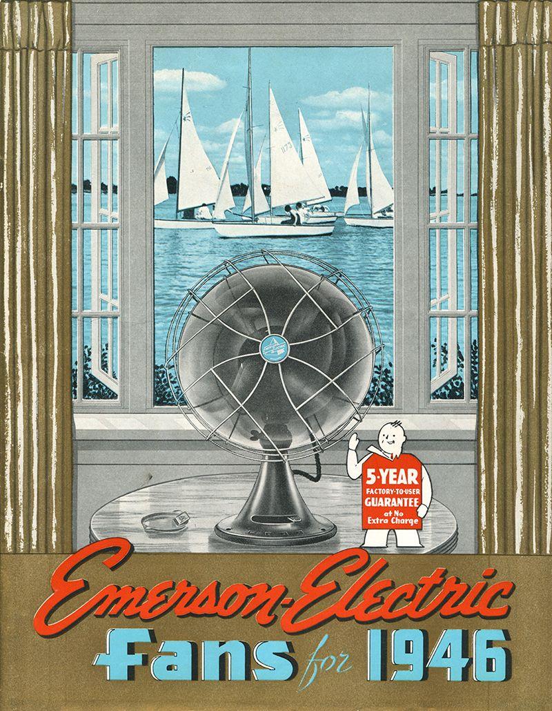 1946 emerson ceiling fans catalog emerson fans history pinterest 1946 emerson ceiling fans catalog aloadofball Choice Image