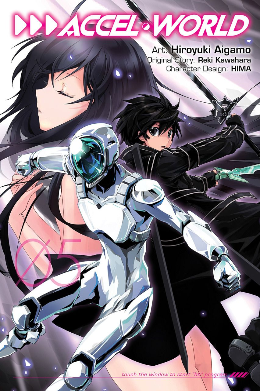 """Accel World 5 Touch The Window To Start """"BB"""" Program"""