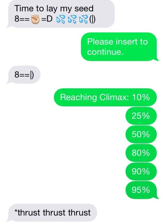 Funny sexually suggestive texts
