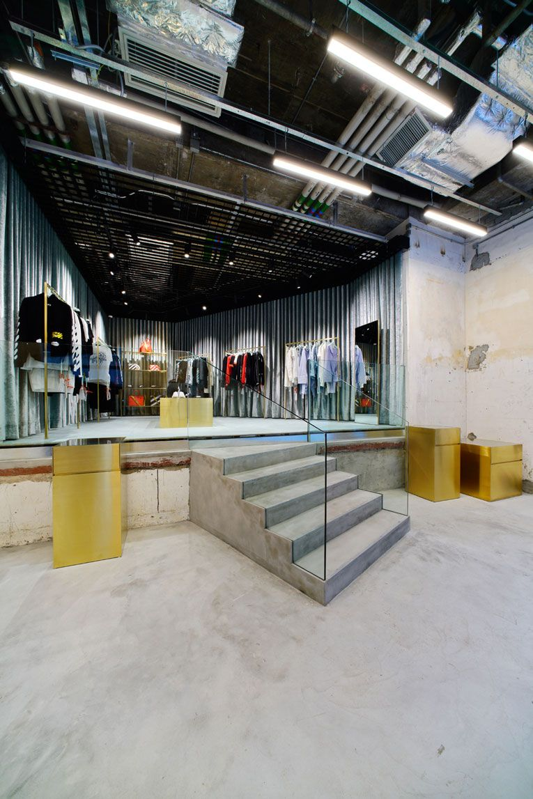 hong kong offwhite store opening Off white store