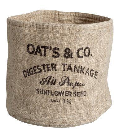 Textile basket £7.99