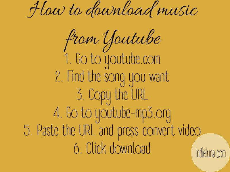 How To Download Music From Youtube Life Hack Download Music From