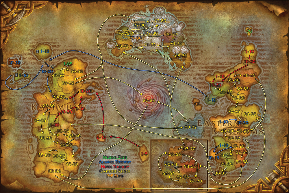 Horde travel routes worldofwarcraftmapscataclysm maps horde travel routes worldofwarcraftmapscataclysm gumiabroncs Images
