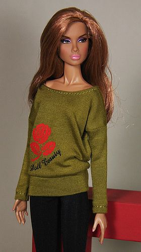 "Sweater ""Red Rose"""