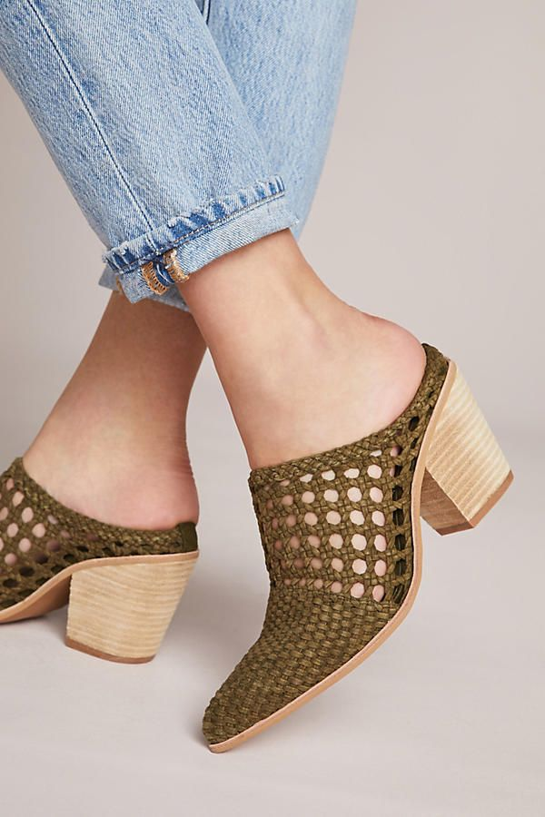 Jeffrey Campbell Favela Perforated Mules