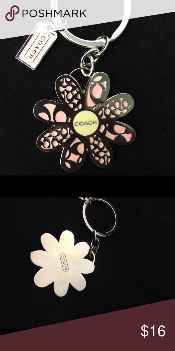 Daisy Keyring. NWT. Coach Accessories Key & Card Holders