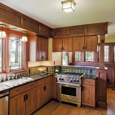 1928 Craftsman Bungalow Remodel Kitchen In 2019 Bungalow