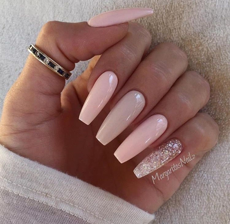50 Gel Nails Designs That Are All Your Fingertips Need To Steal The Show Ballerina Nails Trendy Nails Nails