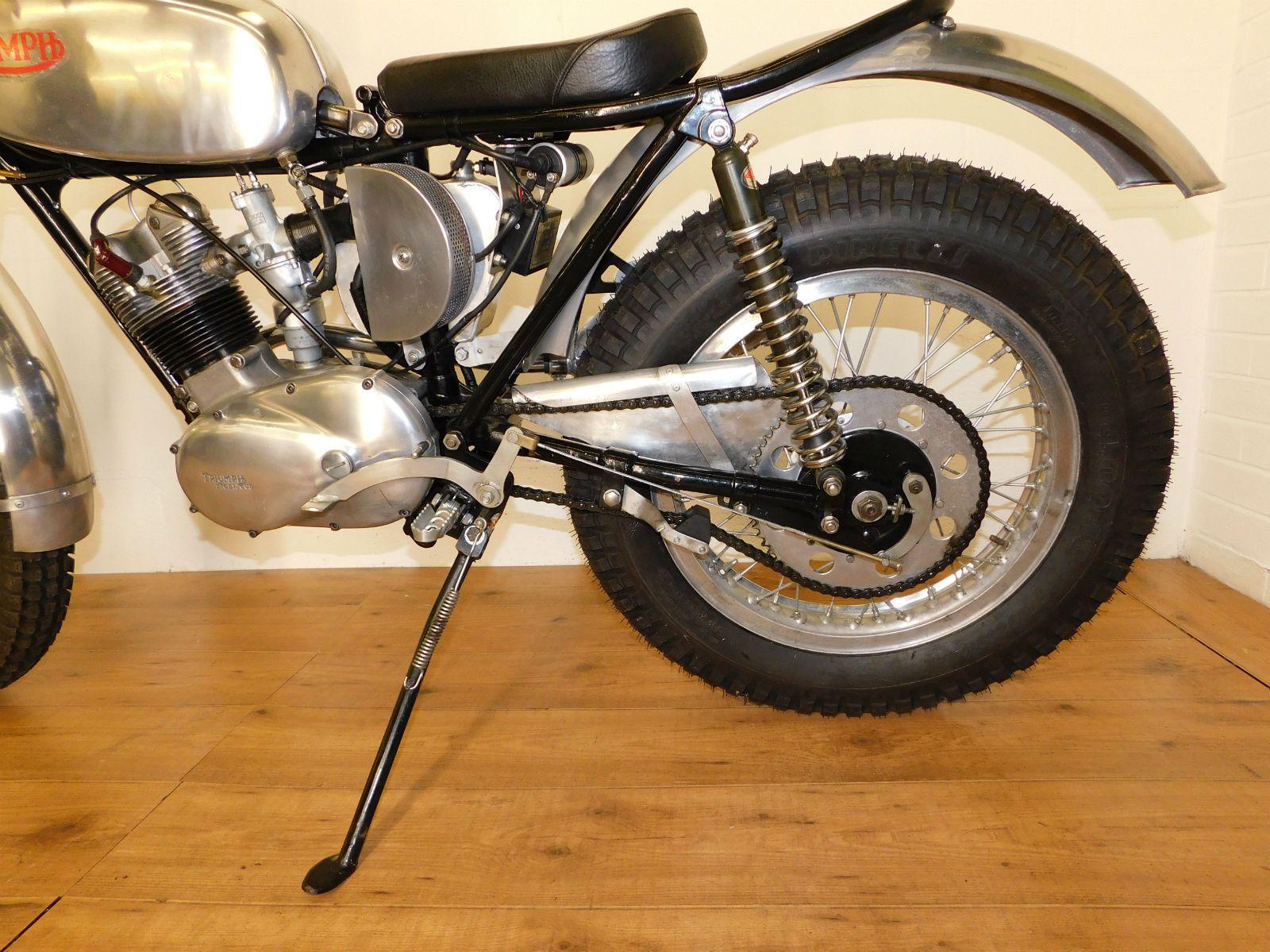 Triumph Tiger Cub Vintage Trials Full Engine Rebuild Lovely Bike