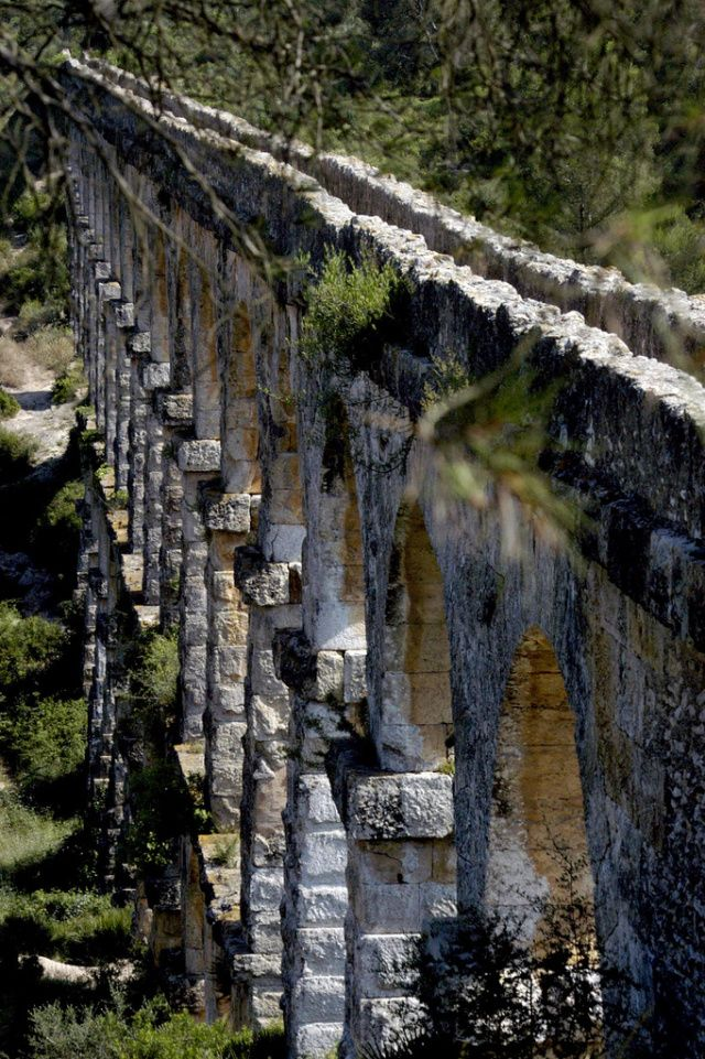 Tarragona's Ancient Roman Aqueduct, Spain
