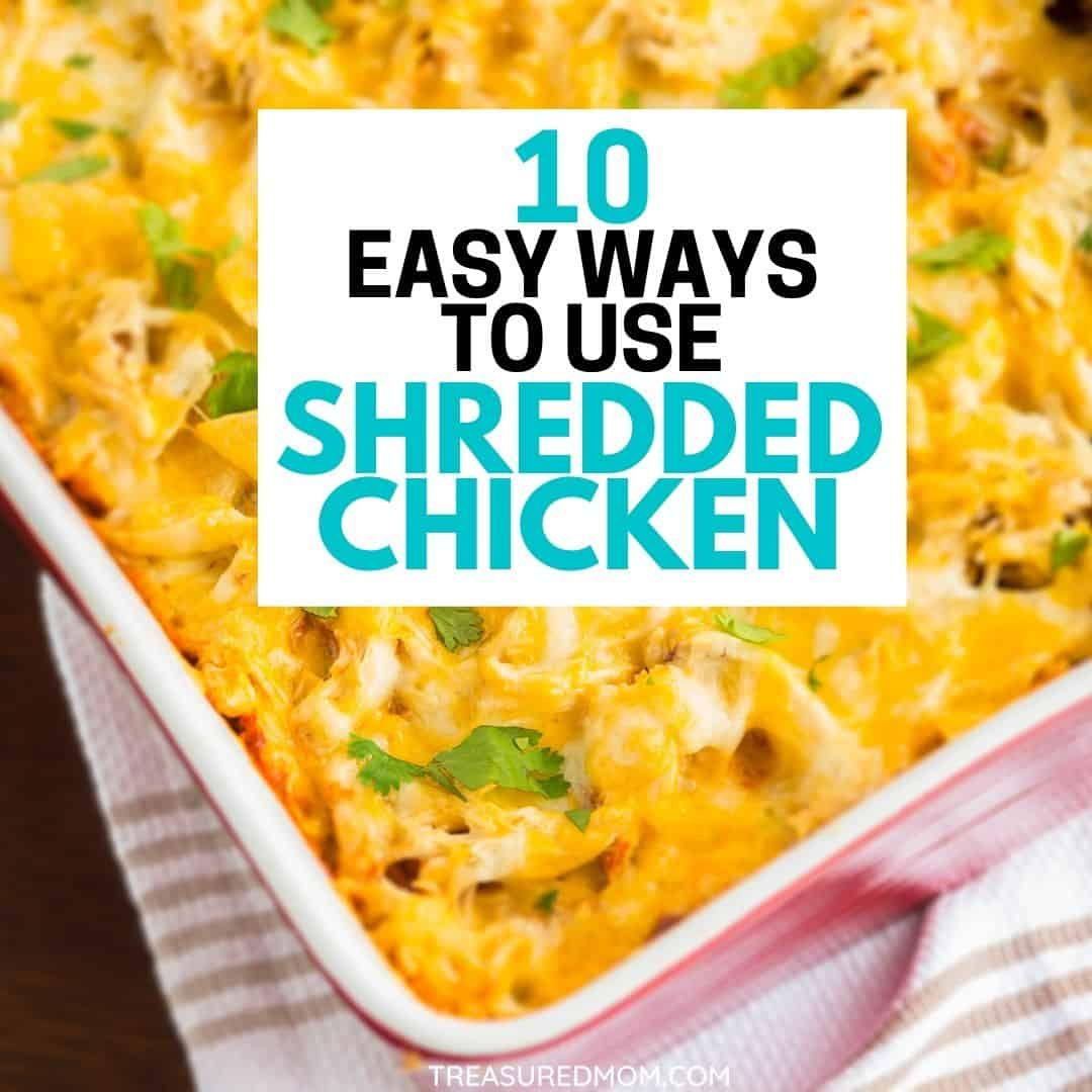 Simple Chicken Recipes For Busy Nights In 2020 Shredded Chicken Recipes Easy Easy Chicken Recipes Shredded Chicken Recipes