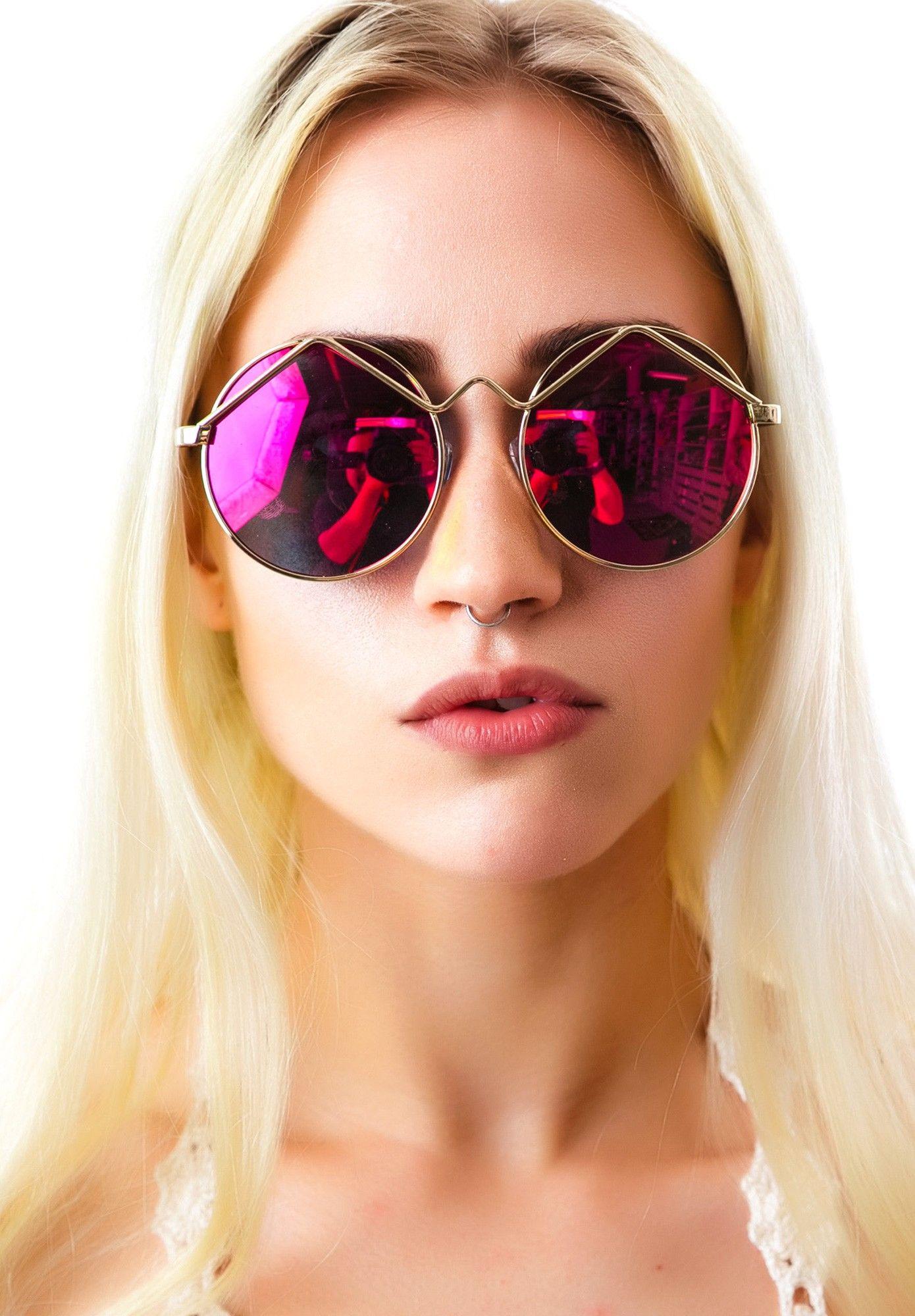 e0830f5b8d Mink Pink x Le Specs Wild Child Sunglasses