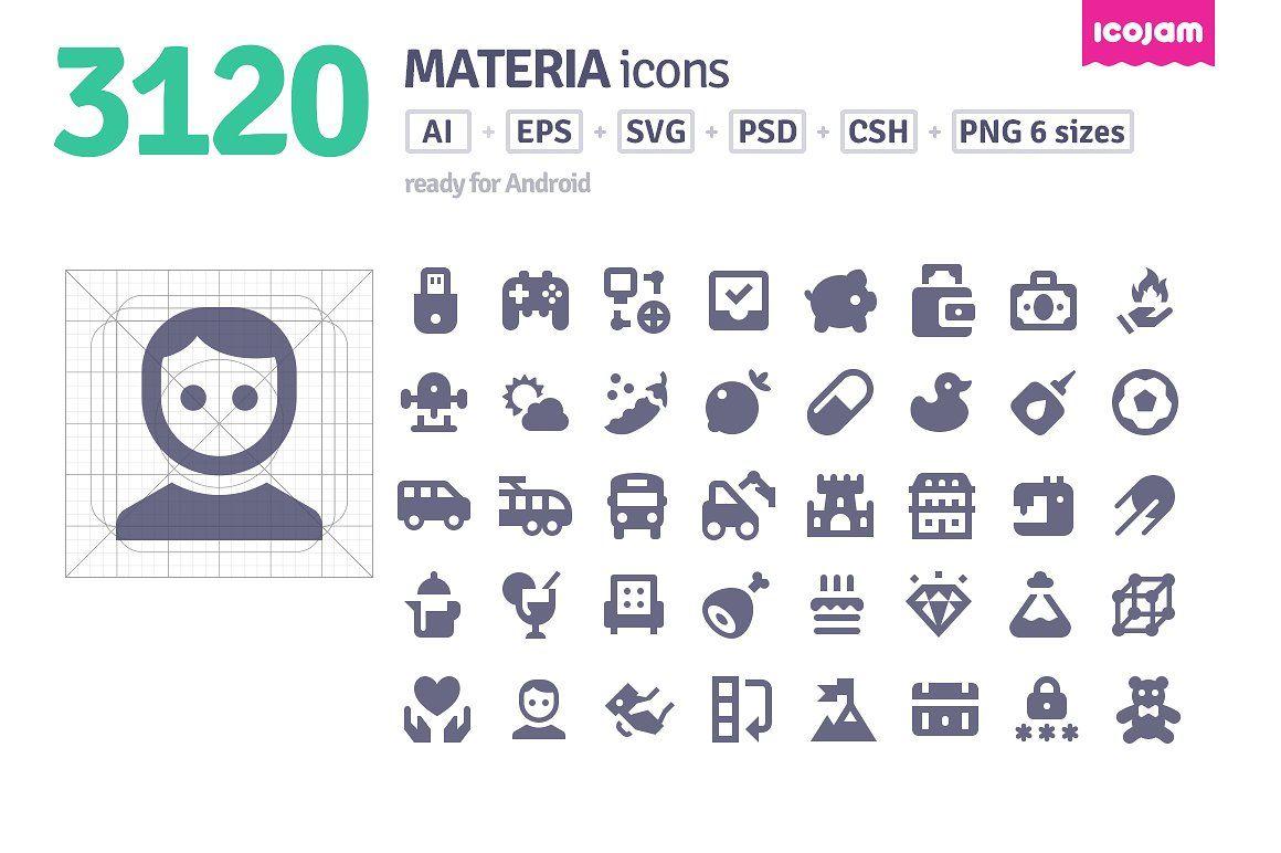3120 Materia Icons Flat Icon Free Icon Business Card Logo