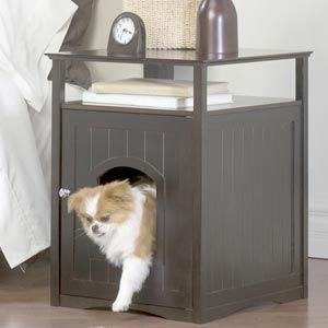 I Just Have To Get A Dog First Indoor Dog House Litter Box Furniture Animal House