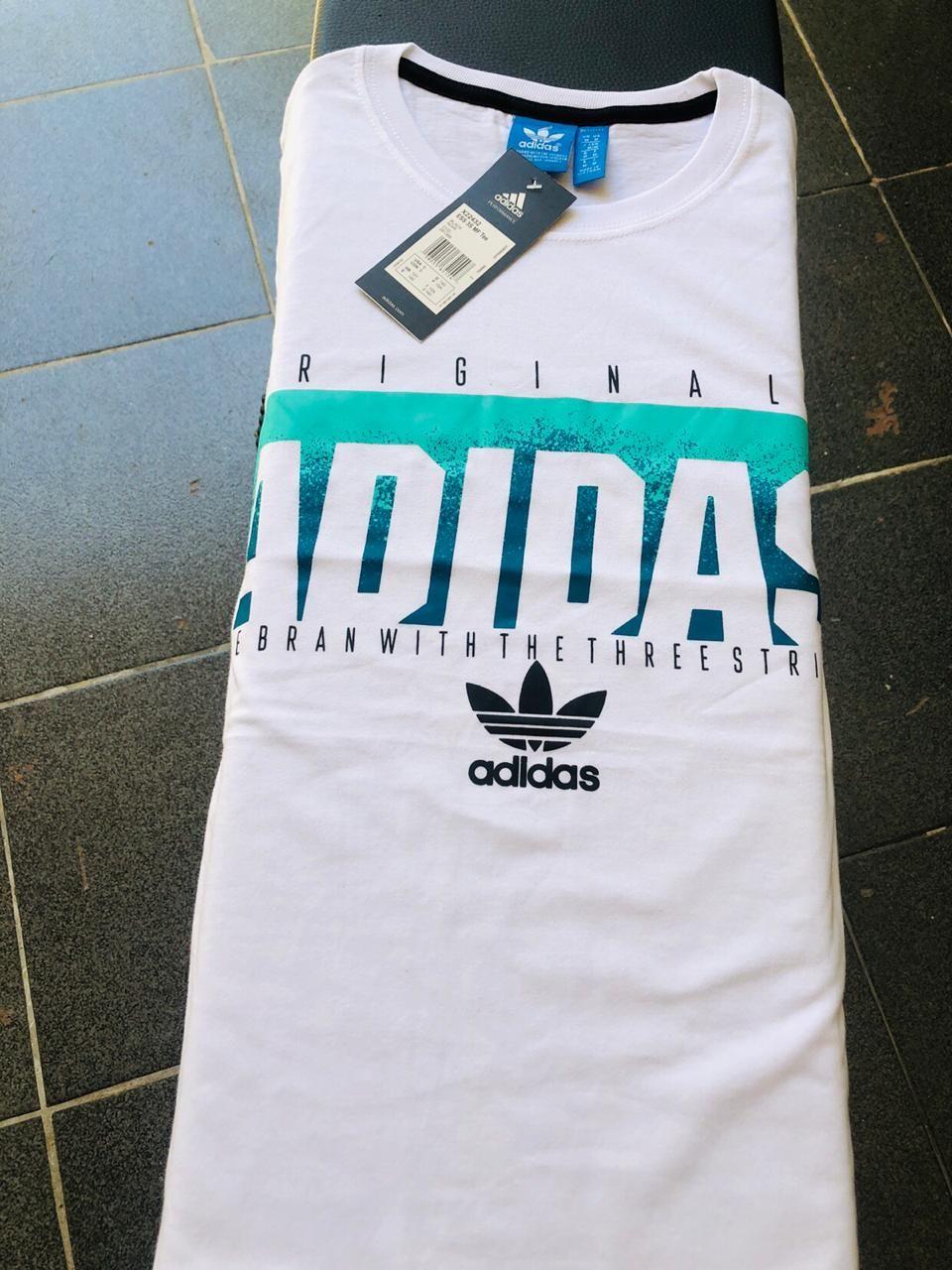 Camisetas Adidas fabricadas no Peru. Material de excelente