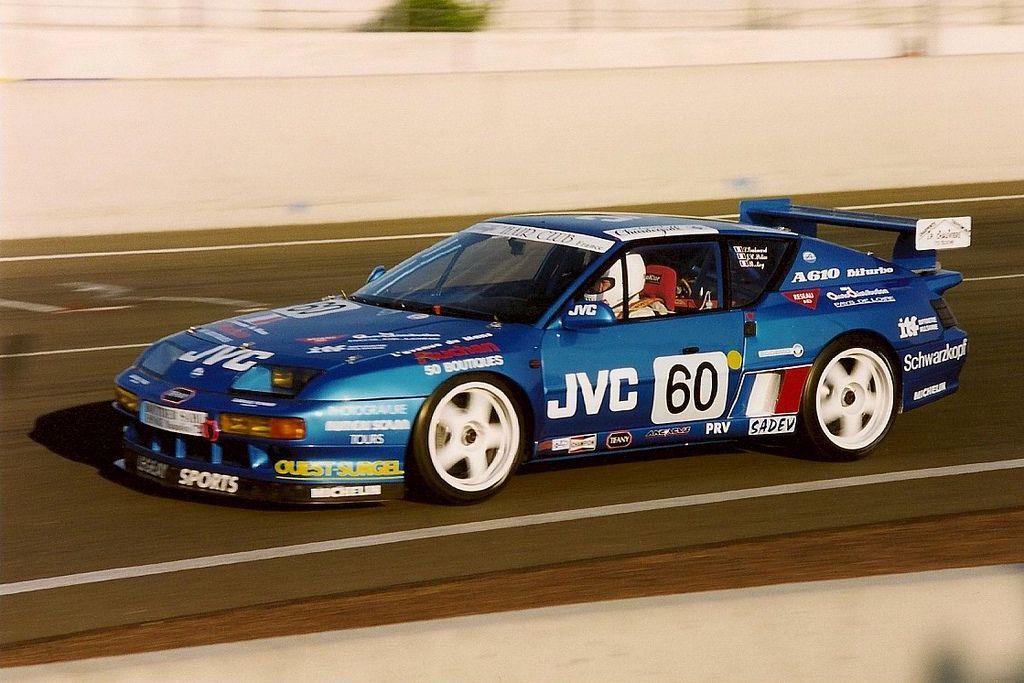 "1994 Le Mans Alpine A610 Turbo ""Police Car"" Samochody"