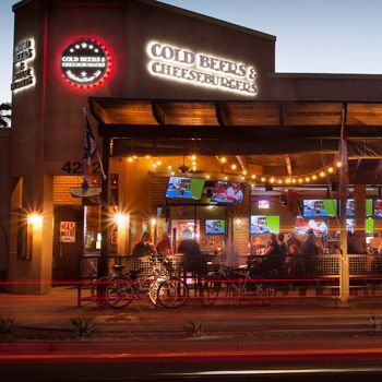 Located In The Heart Of Old Town Scottsdale Cold Beers Cheeseburgers Serves Best Burgers And On Tap Including Arizona Micro Brews