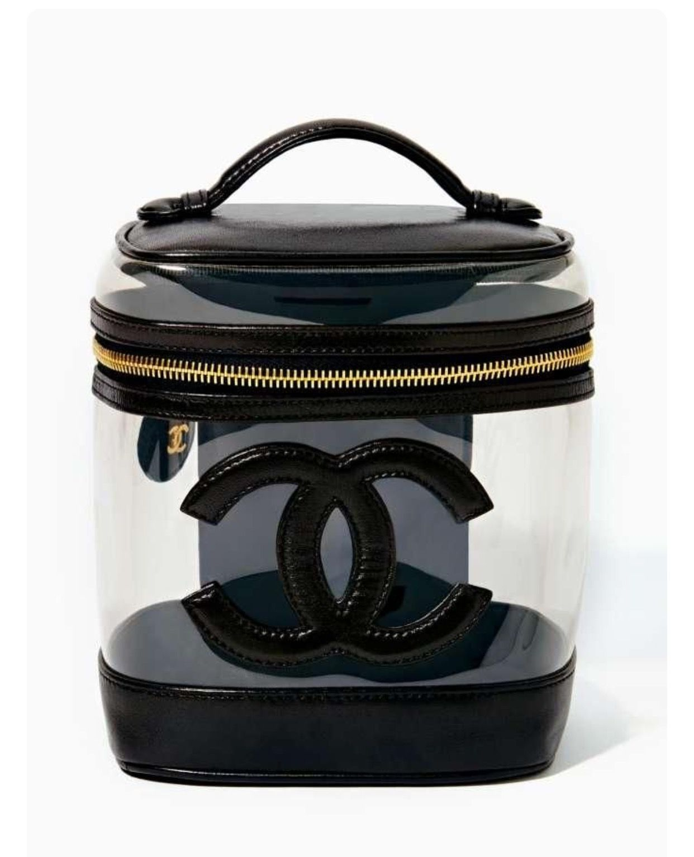 Vintage Chanel Vintage chanel, Vanity bag, Bags