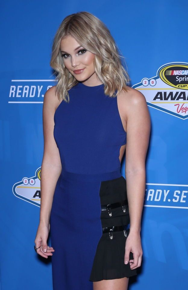 Almost Nude Olivia Holt Gives You  Milking Table  Hot -5020