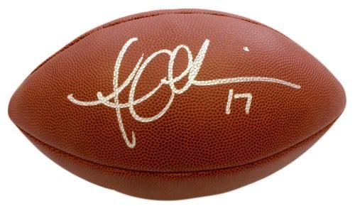 Austin Collie Autographed Composite Football - GA  SportsMemorabilia   IndianapolisColts Edgerrin James 6b025eebc