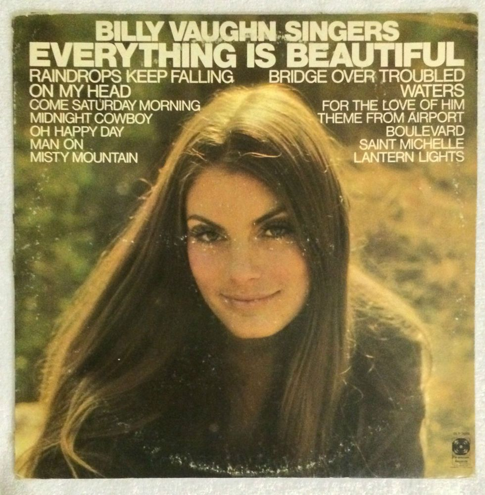 Billy Vaughn Singers - Everything Is Beautiful LPS 25985 Dot Records Paramount  #popjazz