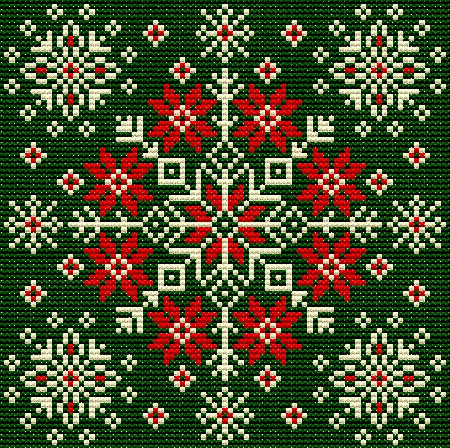 Nordic Tapestry Cushion Christmas Snowflakes Ornaments Cross Etsy Scandinavian Cross Stitch Cross Stitch Cushion Scandinavian Cross Stitch Patterns