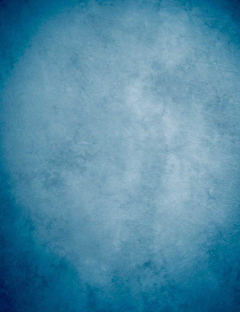 Steel Blue Old Master Printed Lighter Center Color Backdrop For