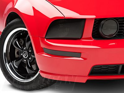 SpeedForm Smoked Headlight Covers for Mustang 2005-2009 GT//V6