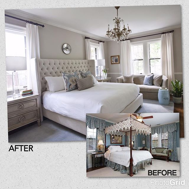 One of my fav transformations that prove #clean and #classic can also equal #SouthernCharm. #ErikaWardInteriors
