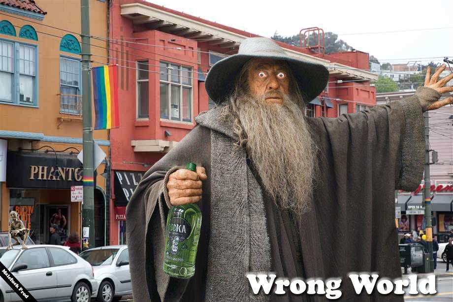 #LOTR #Gandalf #Drunk #Castro