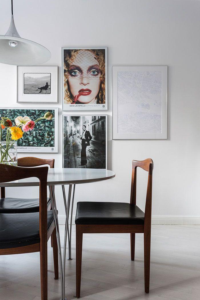 Casinha colorida: Muito Mid Century Modern para sua sala de jantar