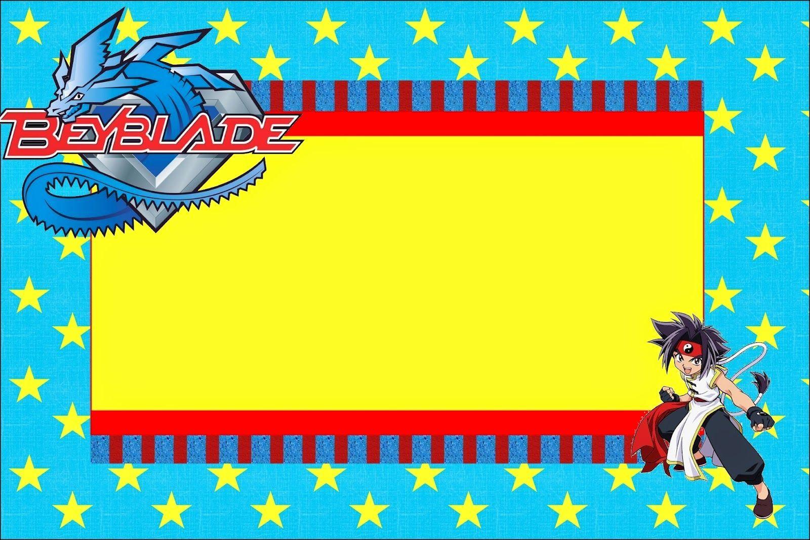 Beyblade Invitaciones Para Imprimir Gratis Invitaciones