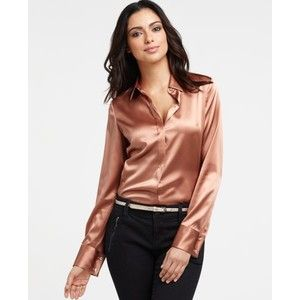 81d8c5b560e674 Petite Silk Charmeuse Long Sleeve Legacy Blouse | Great Outfits ...