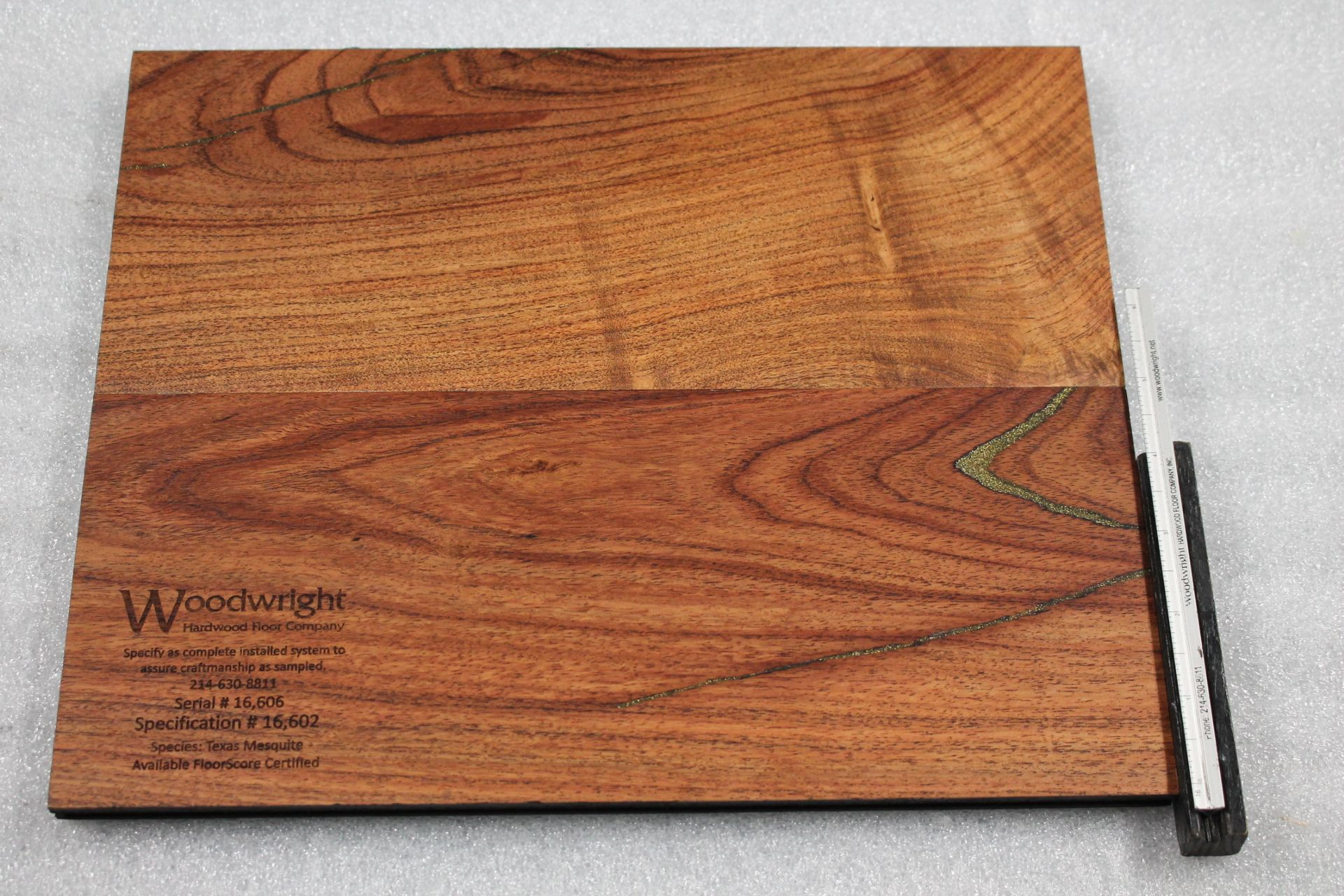 Gold Flake Inlay Grade Texas Mesquite Woodwright You Can Just About