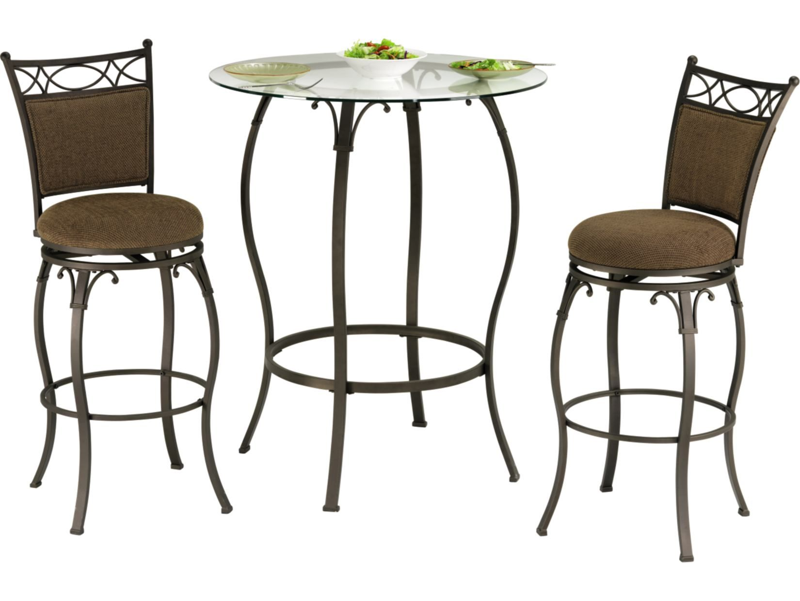 Main Street Logan 3 PC Bistro Set Value City Furniture