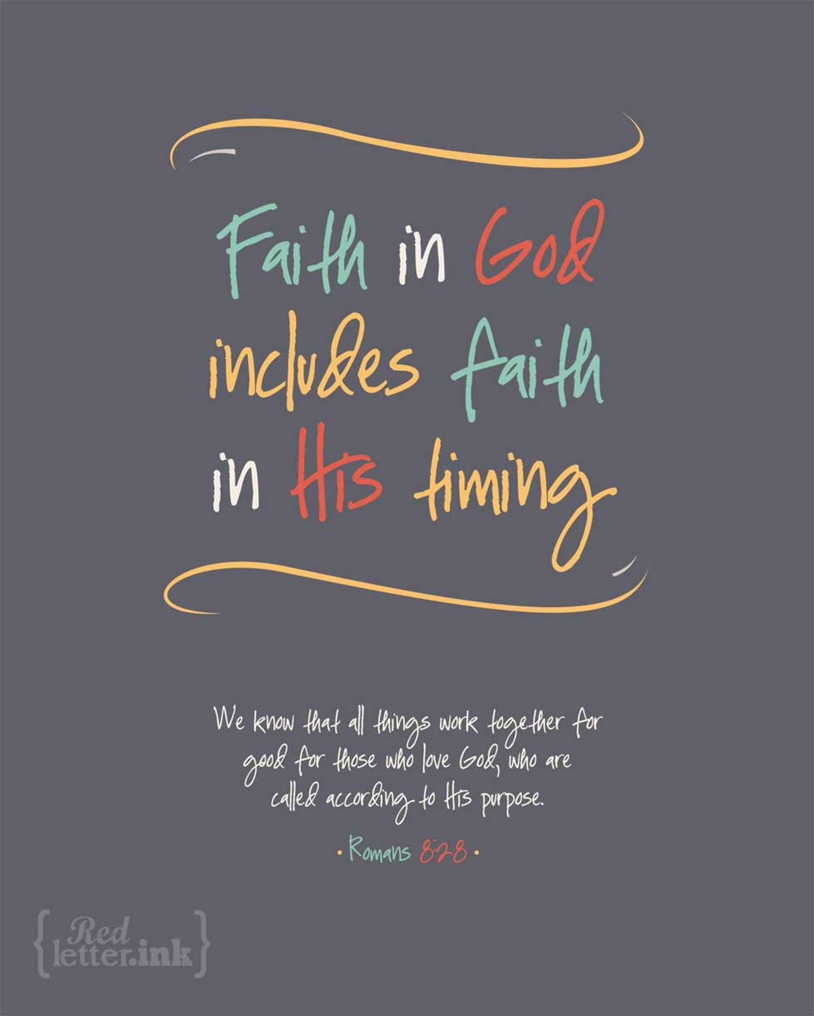 Wall Art LifePrints  Faith in God grey yellow teal   Etsy