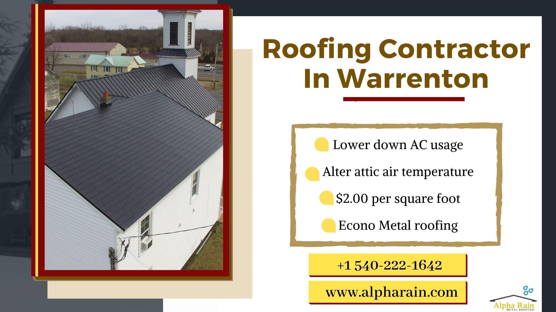 Metal Roofing Warrenton Va Metal Roof Installation Metal Roof Cool Roof