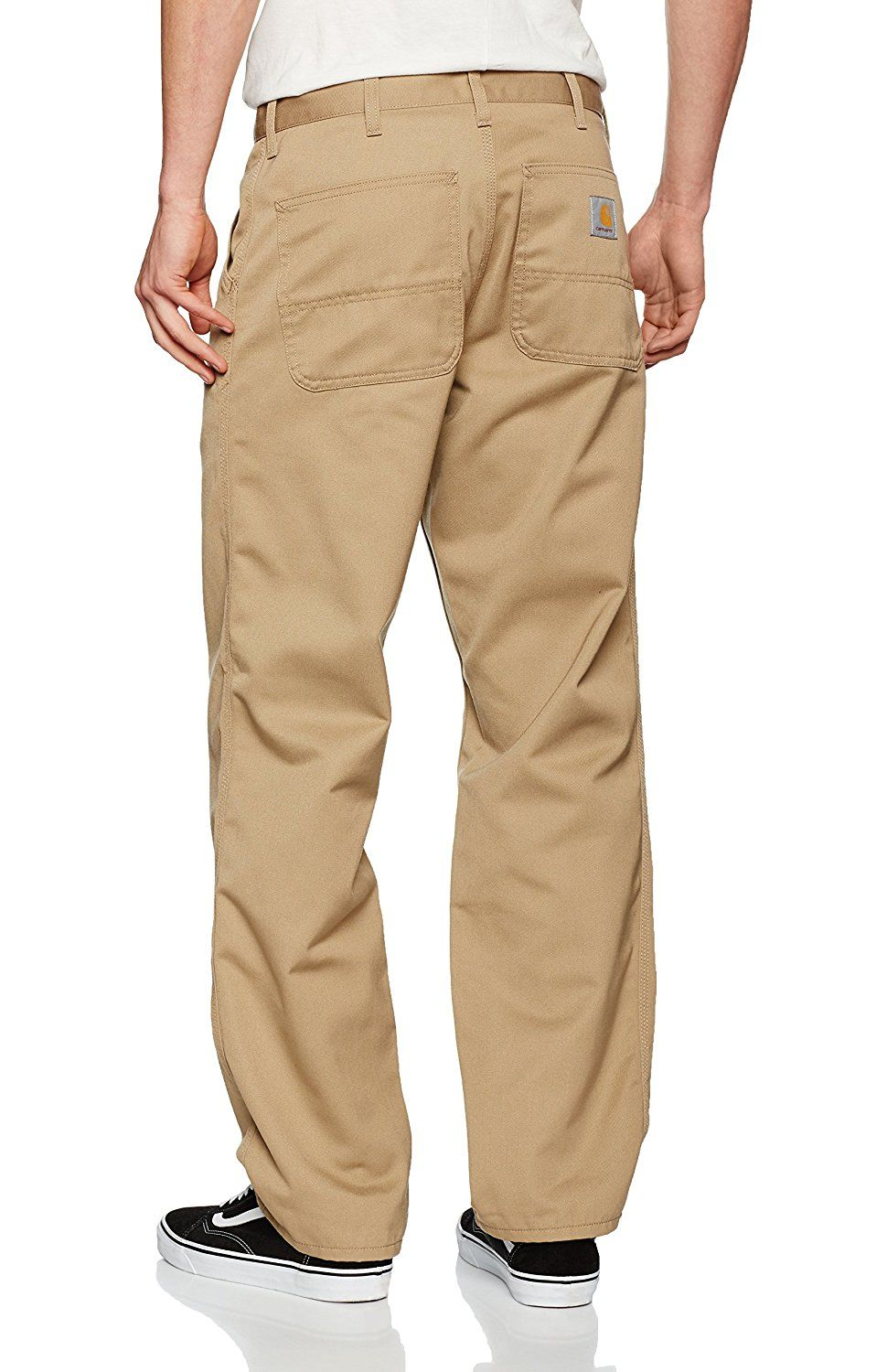 Carhartt Men s Simple Pant Trousers, Beige (Leather Rinsed), 31  Amazon. 6c5b4cba3c