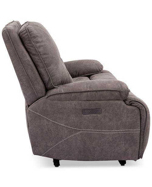 Super Felyx 84 2 Pc Fabric Power Reclining Sofa With 2 Power Machost Co Dining Chair Design Ideas Machostcouk