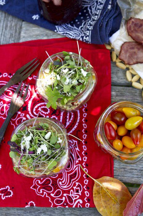 Bacon Lettuce Tomato Avocado Quinoa Salad recipe